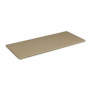 Shelf,36 In x 18 In, 3/4 In,Sand
