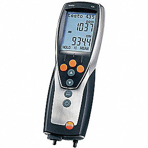 VAC/IAQ Meter,Includes Battery