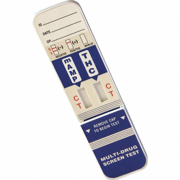 Grainger approved 2 panel drug test card detects drugs for General motors drug test