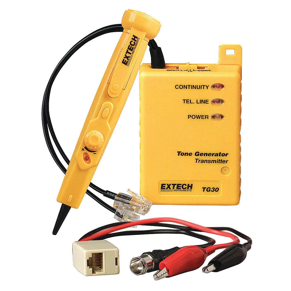 EXTECH Wire Tracer/Tone Generator Kit - 9MZ19|TG30 - Grainger on