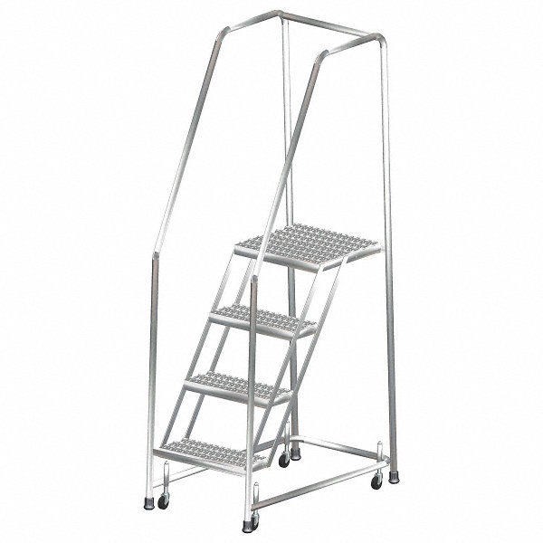 Ballymore 4 Step Rolling Ladder Serrated Step Tread 73
