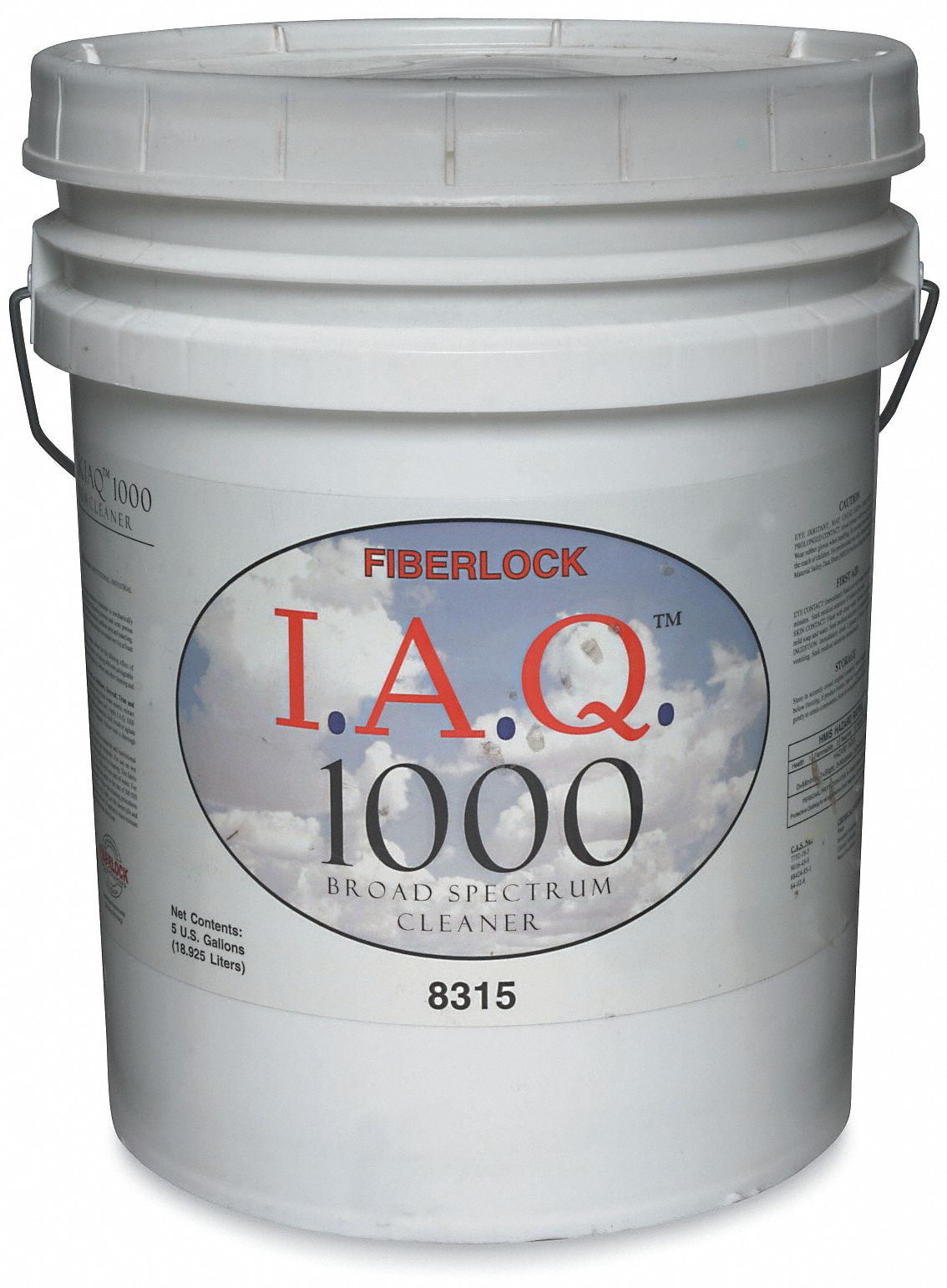 Mold Cleaner, 5 gal Pail, Unscented Liquid, 1 EA