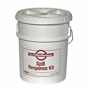Spill Kit,Bucket,4 gal.,Universal