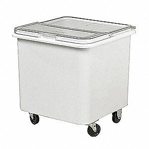 "Ingredient Bin, White, 22"" Outside Length, 22"" Outside Width, 23"" Outside Height"