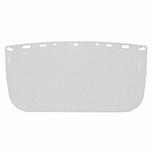 "Faceshield, 8"" Visor Height, Polyester Visor Material"