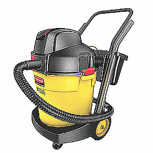 12-1/2 gal. Commercial Wet/Dry Vacuum, 1.9 Peak HP, 120 Voltage