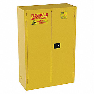 Cabinet,45 gal,Flammable,18x65x43