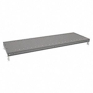 Steel Shelf, Gray, 1 EA