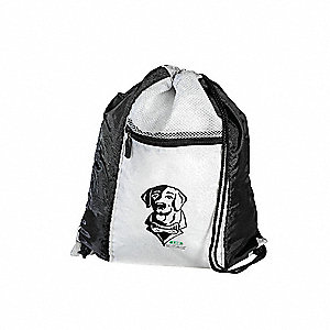 Backpack,Lab Dog,White/Black