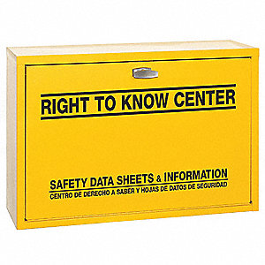 Right-To-Know Cabinet,Hazard Information