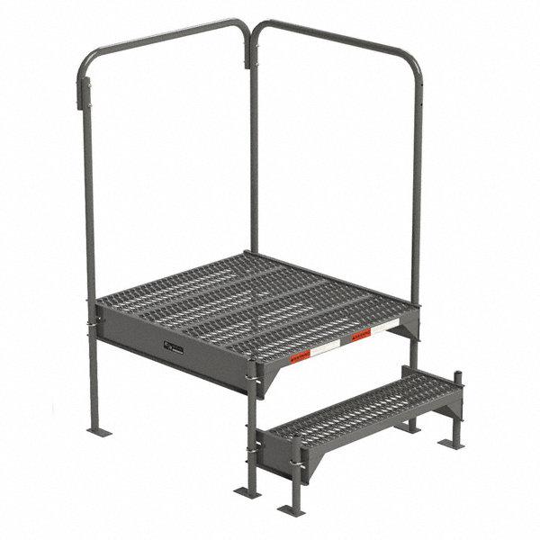 grainger approved work platform  steel  single access