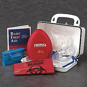 CPR Kit,Adult,Box