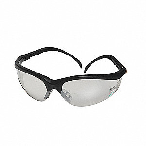Klondike® Scratch-Resistant Safety Glasses, Indoor/Outdoor Lens Color