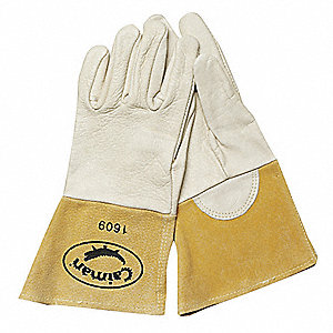 Welding Gloves,MIG,XL,Split Leather,PR