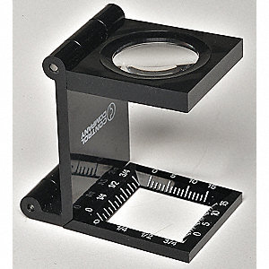 Fold-Up Magnifier,Lens 7/8 In,7.0X