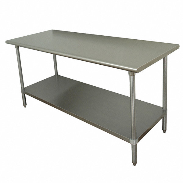 Advance tabco fixed height work table stainless steel 36 for Table width not working