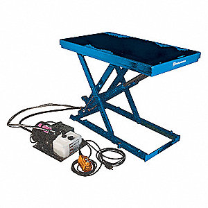 Hydraulic Lift Table,4400 lb.,39-3/8 In.