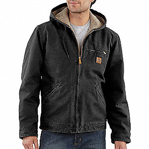 Jacket,Insulated,Black,L