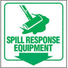 PROJ SIGN 90D 8X8 PNL SPILL RSPONS