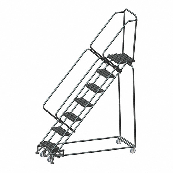 Ballymore 7 Step Rolling Ladder Serrated Step Tread 103