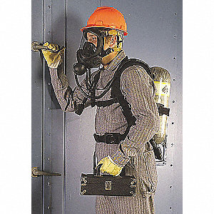 SCBA Backframe Assembly, Includes Kevlar® Harness w/Chest Strap, Lumbar Pad and Heat Alarm