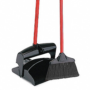 "Lobby Broom and Dust Pan,41"" L,10"" W"