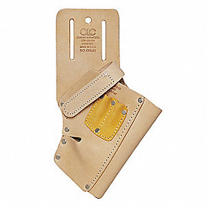 Tan Cordless Drill Holster, Leather