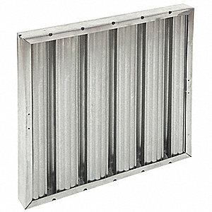 12x12x2 Baffle Filter For Use With Mfr. No. S-DD1, Frame Included: Yes