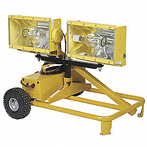 Temp Job Site Light Cart,120V,2000W