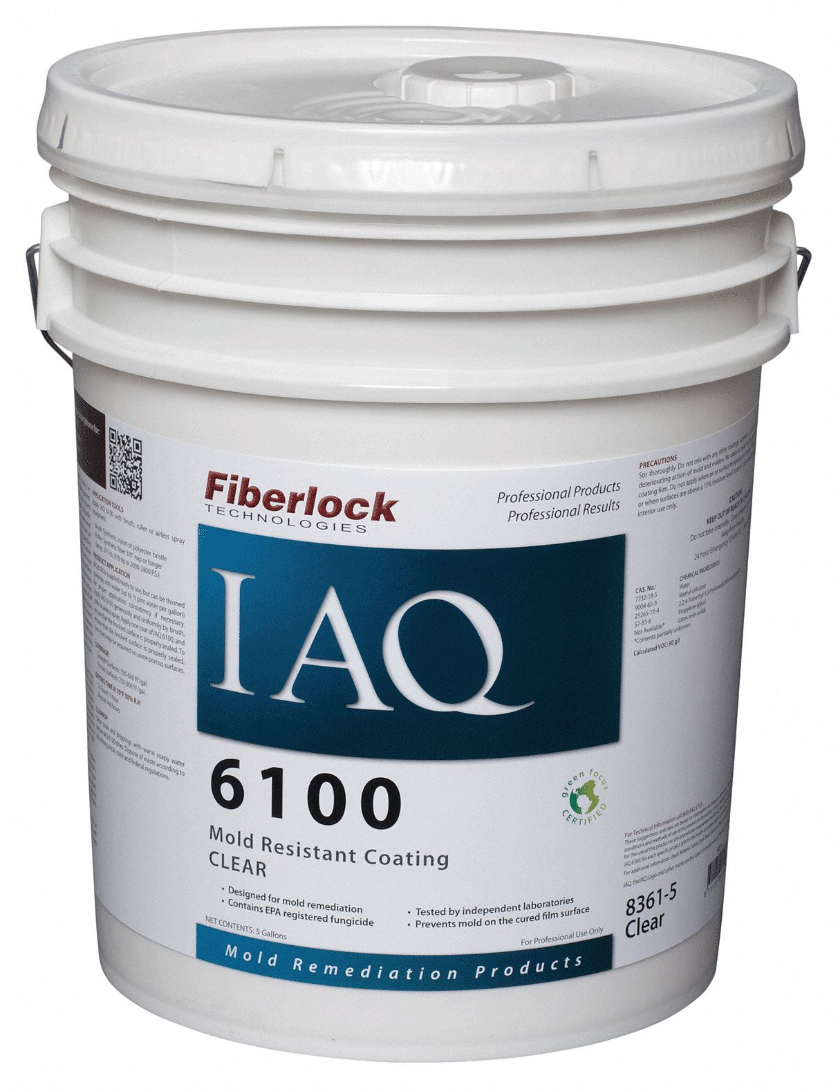 Clear Mold-Resistant Coating, Size: 5 gal