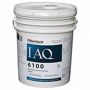 Clear Mold-Resistant Coating, Size: 5 gal.
