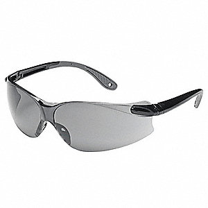 Virtua  Scratch-Resistant Safety Glasses, Gray Lens Color