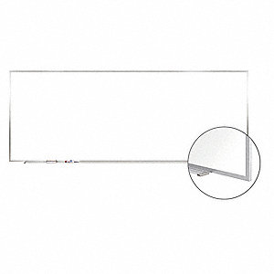"Magnetic Dry Erase Board, Magnetic Porcelain, 144"" Width, 48"" Height"