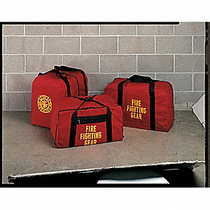 Equip BAG FIRE FIGHTING STEP-IN BAG RED