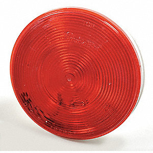 Stop/Turn/Tail Light,Round,Red