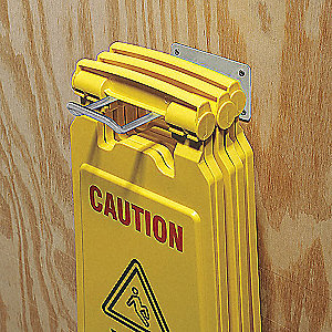 Floor Safety Caution Sign Hanger
