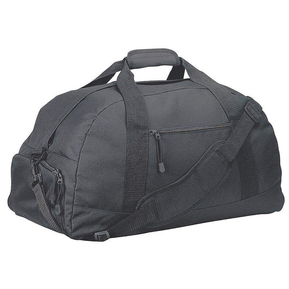 1a276c0e36de Black 600 Denier Polyester Duffel Bag