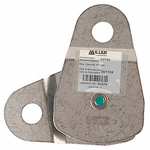 Stainless Steel Pulley Block Assembly, Tensile Strength 5000 lb., Silver
