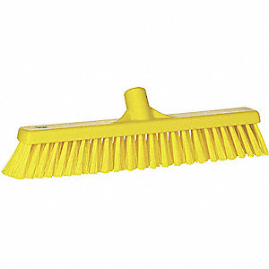 "Synthetic Combo Floor Broom, 16"" Sweep Face"