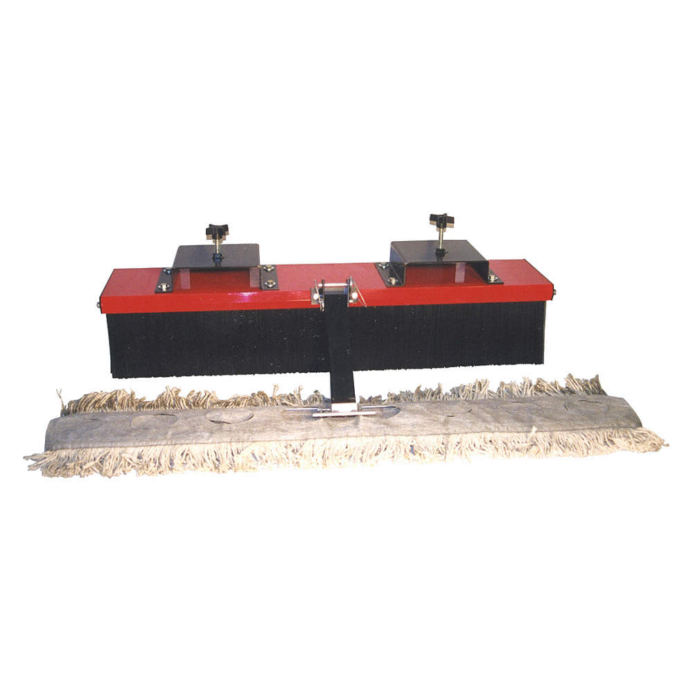 Forklift-Mount Dust Mop Kit, For Use With Forklift Mount Brooms, 8TJV2