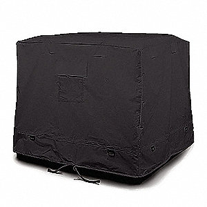 Containment Tarp,52-1/2 In. L,Black