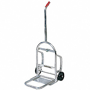 "Folding Hand Truck, Single Grip, 200 lb., Overall Width 18"", Overall Height 43"""
