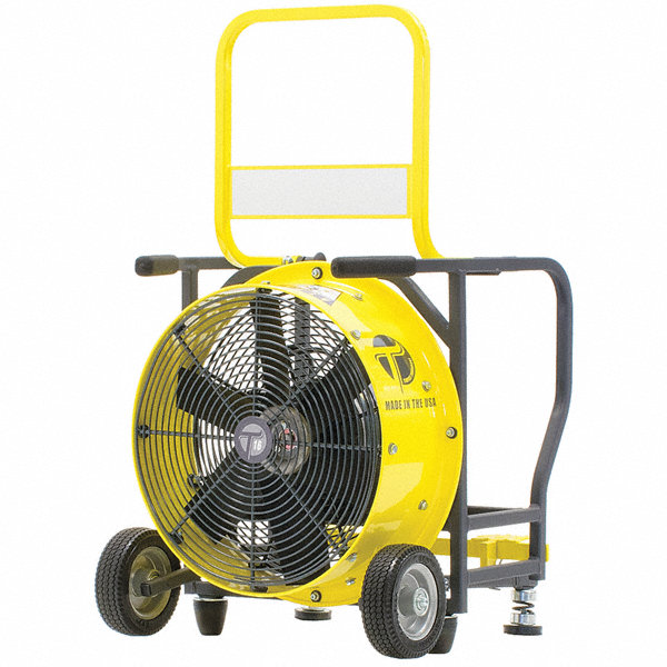 Static Pressure Blower : Tempest quot electric ppv fan cfm height