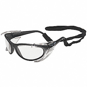 Prevail Scratch-Resistant Safety Glasses, Silver Mirror Lens Color
