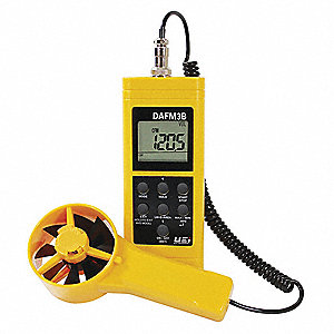 Anemometer with Humidity, 99 to 3937 FPM