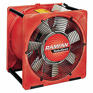 Ramfan 16 Quot Electric Smoke Ejector Fan 4459 Cfm Height 19