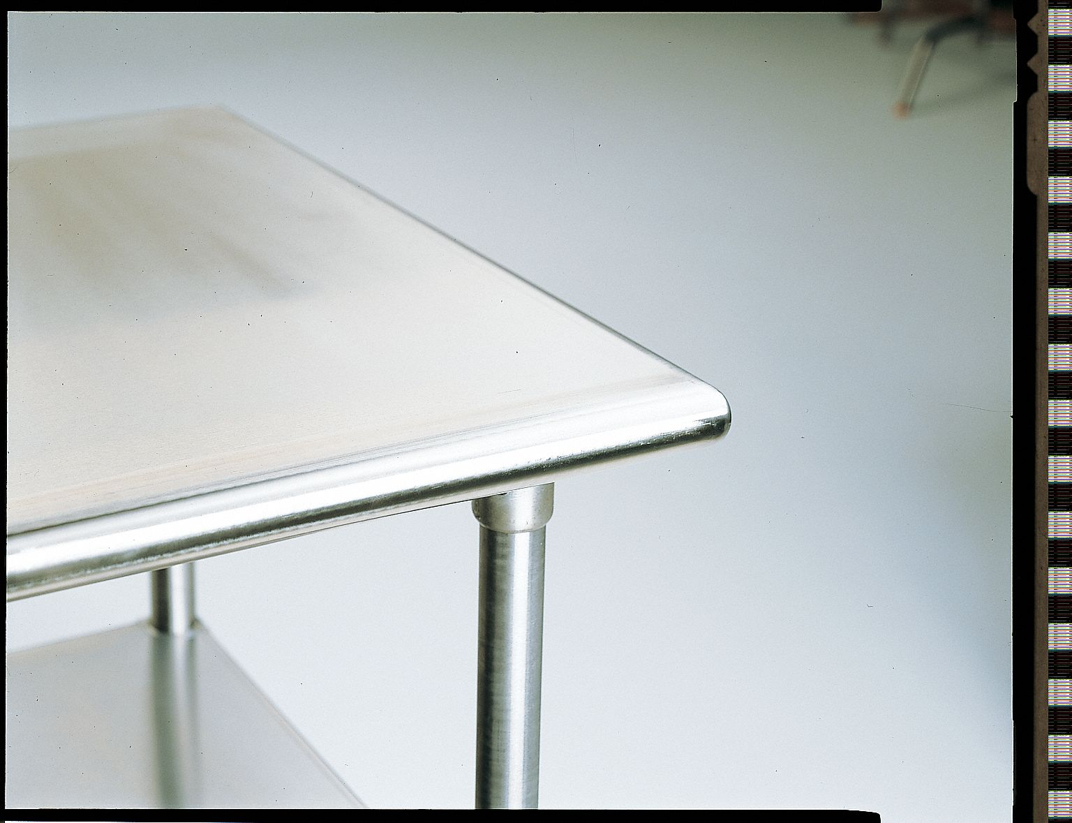 Fixed Height Work Table, Stainless Steel, 30 in Depth, 35 1/2 in Height, 48 in Width,500 lb Load Cap