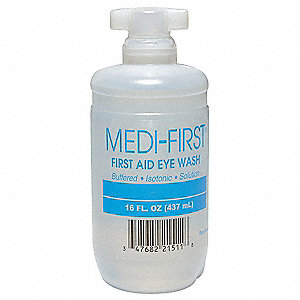 Eye/Skin Irrigation Solution, 16 oz. Bottle