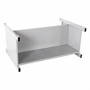 "46-3/4"" x 35-3/8"" x 20"" Open Flat File Open Cabinet Base, Light Gray&#x3b; For 8X069"