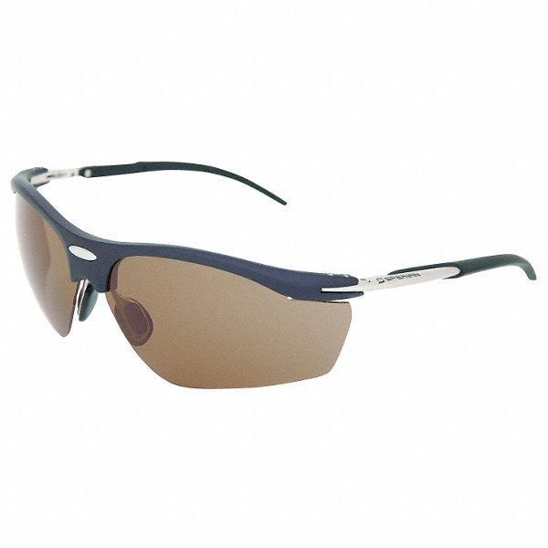 honeywell uvex wraparound laser safety glasses with brown